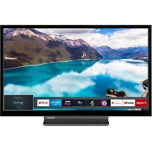 Toshiba 24 Inch HD Ready 720p HDR Smart TV with DVD Combi and Freeview Play