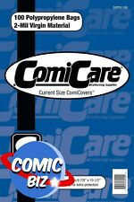 More details for 100 x comicare current comic size polypropylene comic bags (2-mil)