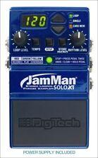 Digitech JamMan Solo XT Stereo Looper Phase Sampler Pedal JMSXT