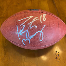 Peyton Manning Signed Autographed The Duke Game Football Colts Broncos