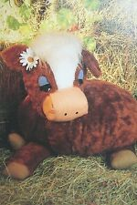 Cow Toy Sewing Pattern (PN37)