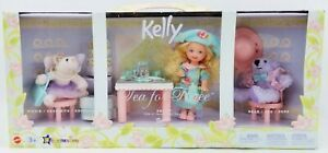 """Barbie Kelly Tea for Three with Piggie & Bear Toys """"R"""" Us Exclusive Mattel B0782"""