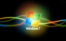 Windows 7 SP1 Pro, Ultimate 32-bit 64-bit DVD Set -  Full Install Repair Upgrade