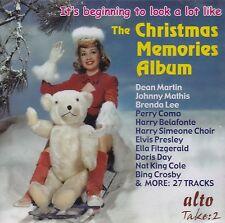 THE CHRISTMAS MEMORIES ALBUM: VARIOUS ARTISTS (CD)
