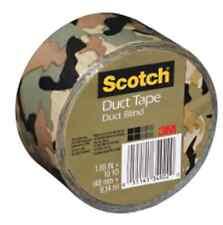 Scotch CAMO Duct Tape Camoflage 3M DUCK BLIND Multi-Use tape 910-CMO-C