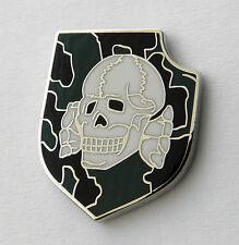 Skull Cross Bones Army Camo Special Forces Lapel Lapel Hat Pin 1 inch