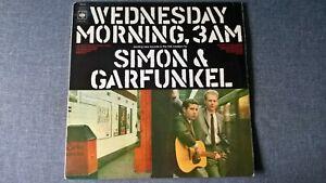 SIMON & GARFUNKEL - WEDNESDAY MORNING, 3 AM.         LP.