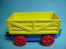 Lego Duplo Eisenbahn Anhänger gelb
