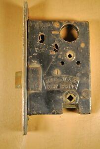 Antique Vtg Sargent & Co. Easy Spring Mortise Lock / Entry Door
