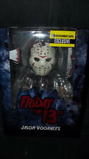 Mezco Friday The 13th Jason Exclusive Bloody Glow In The Dark Mask Figure