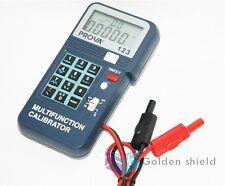 PROVA-123 Process  Calibrator,Digital Tester,Meter,Gauge 0-24mA 2 -50,000Hz.