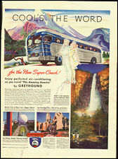 11950's Vintage ad Greyhound Busline/World's Fair picture (032913)