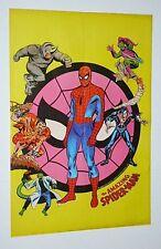 1975 Marvel Comics 22 1/2 by 15.5 Spider-man poster: Morbius/Green Goblin/Romita