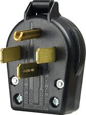 Cooper Wiring Devices S21-SP-L Dryer Angles Plug 30amp, 125/250-Volt, Black *