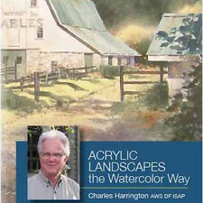 NEW DVD: ACRYLIC LANDSCAPES THE WATERCOLOR WAY WITH CHARLES HARRINGTON