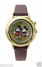 NEW Disney Mickey Mouse Minnie Mouse Musical Melody Watch HTF