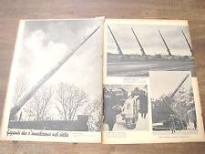 1940 CANNONI GIGANTI tedeschi 2° guerra mondiale cannone gigante la grossa BERTA