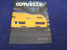 Corvette News - Fall 1983, 1984 Model Year