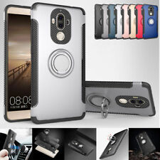 For Huawei Mate 9 Mate 10 Pro Heavy Duty Ring Stand Back Armor Hybrid Case Cover