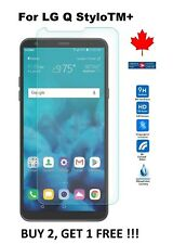 LG Q Stylo Plus (LMQ710WA) - Tempered Glass 9H Hard Screen Protector Cover