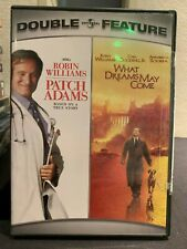 Patch Adams/What Dreams May Come Double Feature (Dvd, 2007, 2-Disc Set) - Used