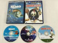 Lot de 2 DVD Disney VF Le Monde de Nemo et Chicken Little  Envoi rapide et suivi