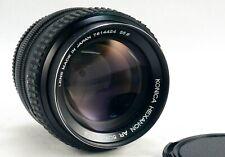 Konica HEXANON AR 1.4 50mm in eccellenti condizioni