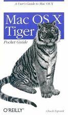 Mac OS X Tiger Pocket Guide: By Toporek, Chuck