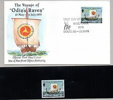 > ISLE OF MAN FDC - 1979 200th BATTLE OF JERSEY + STAMP MNH**