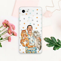 Freddie Mercury Cat Animal Silicone Case Cover Case For Google Pixel 2 3 3A XL