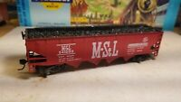 Athearn Roundhouse ahm  MSL coal  hopper car,  with load