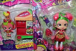 SHOPKINS SHOPPIES WILD STYLE PIPPA MELON AND MELONIE HOPS LOT NRFB