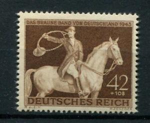 Germany Deutsches Reich 1943 Mi. Nr. 854 Brown Ribbon Race MH