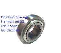 "206KRRB6 agriculture ball bearing 1"" hex bore premium triple seals ABEC3 farm ma"