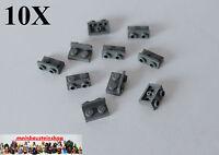10X Lego 99780 Winkel-Platte Konverter Bracket inverted 1X2-1/2 neues Dunkelgrau