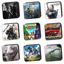PlayStation PS4 PS3 Games - Themed Coasters - Wood - BUY 3 GET 1 FREE - Gaming