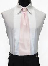 Gentlemen's Light Pink Cravat Tie Victorian Theater Edwardian Morning Dress