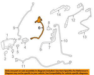 BMW OEM 12-15 328i Emission System-Vapor Canister Filter 16137438487