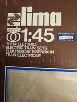 Lima O Scale model railroad 1/45 Italian O Scale Electric Vintage Train Set