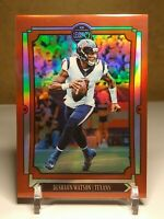 Deshaun Watson Legacy 2019 Red Prizm Parallel  /100!! Houston Texans