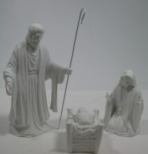 Dept 56 Silhouette The Miracle of Christmas Set of 3 78612 Lit & Gift Exc w/Bx