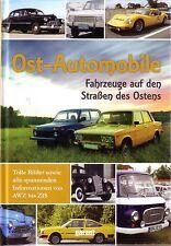 Book - Cars Eastern Block Skoda FSO Lada Dacia ZAZ Zastava GAZ  - Ost Automobile