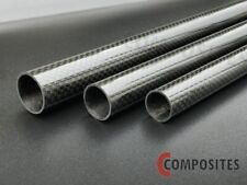 Carbon-Rund-Rohr 6.0x5.0 x 1000 mm CFK Microrohr