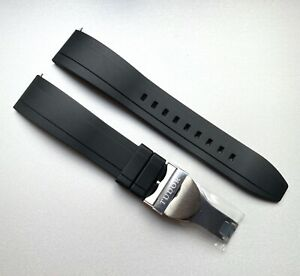 NEW 20mm Rubber Strap & deployment for Tudor Black Bay 58