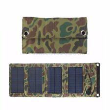 5V 7W 1270mAh Foldable Solar Panel Pack Power Charging Battery For Cell Phone