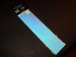 """TRU UV TRANSPARENT 3"""" x 12"""" 2pk Fishing Lure Tape"""