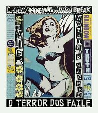 FAILE Sérigraphie sign-num/450/61x71cm  /hush/dolk/pure evil/d face/nick walker/