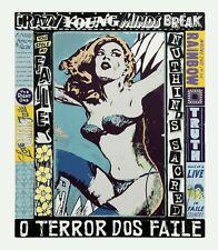 FAILE Sérigraphie sign-num/450/61x71cm  /hush/dolk/pure evil/d face/nick walker/
