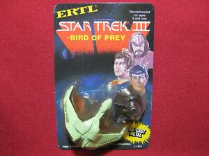 Klingon Bird of Prey 1984 Vintage Diecast Ship Star Trek 3 Search For Spock Ertl