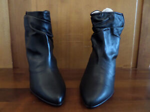 Georgia rose Maniak Blk Ankle boot new sz 42 / Georgia Rose Bottines noires T42